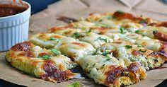 Recept na květákové tyčinky se sýrem