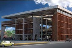Las 30 propuestas del concurso para la reconstrucción del Mercado Corona, propuesta del Despacho Echauri Morales Arquitectos.