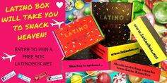 Latino Boxes are so much Fun! Mini and Original sizes Pre-Sale coming very soon! #giveaway #subscriptionbox #snack #latinoamerica #latinos #latinas #unboxing #food #foodie #snacker #snacks #snack #comfortfood #delicious