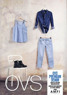 8 fantastiche immagini su OVS Premium Denim Collection