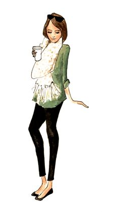 Fashion: trends, outfit ideas, what to wear, fashion news and runway looks Love Fashion, Fashion News, Fashion Design, Fashion Sketches, Fashion Illustrations, College Fashion, College Style, Dress For Success, Types Of Fashion Styles