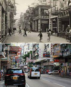 30+ 實景照片展現香港各處的今昔對比