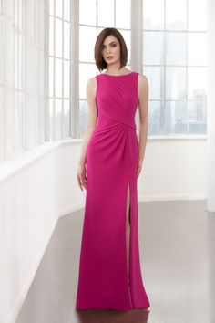 ... from China mothers mother Suppliers  2017 Fuchsia Split Mother Of The  Bride Dresses Mermaid Backless Floor Length Cheap Beaded Women Mother Groom  Dress 44df39bf543