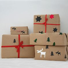 Create Your Own Wrapping Paper Kit