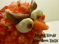 Have a Family Fun Game Night with Angry Birds.  The Angry Birds Video Game and fun Angry Birds Popcorn Balls make it SUCH a fun night!  I will show you how to make popcorn balls!  #CBias #CouchCritics