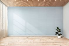 empty wall mockup plant interior chair walls rawpixel freepik against rooms rubber modern save