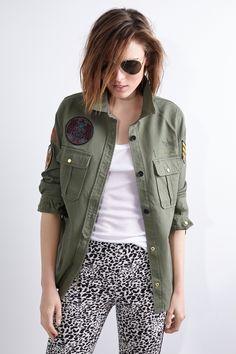 Chemise Militaire Femme, Chemise Femme, Mode 2016, Prêt À Porter, Fringues, d3487fedd8c