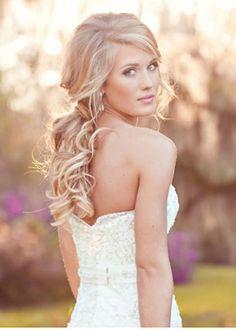 wedding hair down - Google Search