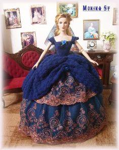 Photo: Mé šaty pro panenku tonner.