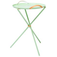 Carry Me Home table, polar green, by &Bros.