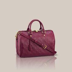 LOUISVUITTON.COM - Speedy Bandoulière 30 Monogram Empreinte Handbags