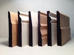 Skirting moulds