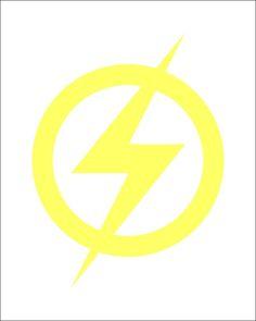 Flash logo Vinyl Decal, DC Comics, Justice League, Superman, Batman, Wonder Woma #DecalDrama