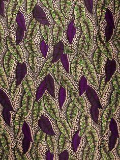 African Fabric Dutch Real Wax Block Print Hollandais