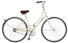 $425 Linus Bikes - Dutchi 1-speed in Cream. Brooks saddle. I so, so want.