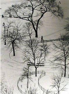 photographer: André Kertész (Washington Square Day, 1954)