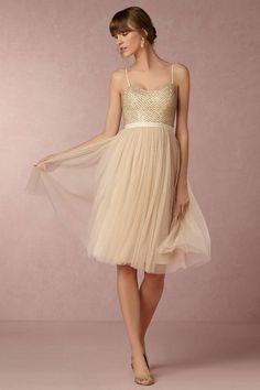 Anthropologie Coppelia Wedding Guest Dress