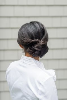 Photography : Leila Brewster Read More on SMP: http://www.stylemepretty.com/2016/03/08/chic-romantic-side-bun/