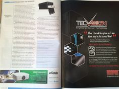 Essential Install Magazine - Projector supplement editorial featuring VIZBOX http://www.projector-enclosures.co.uk