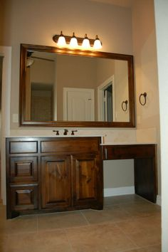 Master bedroom and bathroom ideas on pinterest master bathrooms master closet and dream closets Master bedroom with bathroom vanity