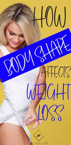 If you have difficulty losing weight, a basic understanding of your specific body type help you increase your results and lose weight a little easier!