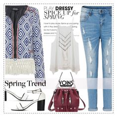 """Wardrobe Basics: Spring Jacket - Yoins 7/10"" by alaria ❤ liked on Polyvore featuring wardrobebasics, yoins, yoinscollection and loveyoins"