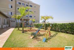 Playground do Vitta Club. Condomínio fechado de apartamentos localizado no bairro Jardim Bueno em Franca/ SP.