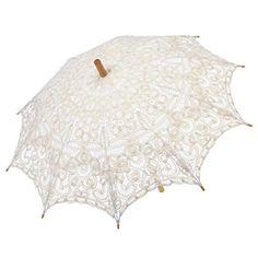 Remedios Ivory Victorian Cotton Lace Parasol Umbrella Wed... https://www.amazon.com/dp/B0197UTC16/ref=cm_sw_r_pi_dp_x_3nOGyb860DHRQ