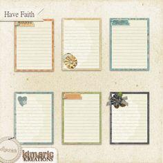 Have Faith (journal pack)