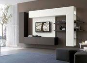 Modern entertainment unit - master bedroom?.