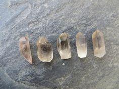 Smoky Quartz Crystal Points // Wholesale by SacredGemstoneStore