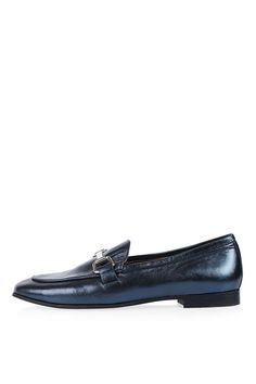KENDALL Leather Loafers - Topshop