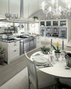 40 #Magnificent Luxury #Kitchens to #Inspired Your Next #Remodel ...