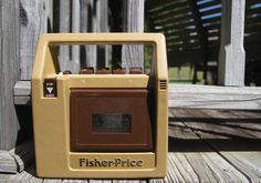 1980s toys | 1980s Fisher Price tape recorder. Collectors item. Vintage toys.