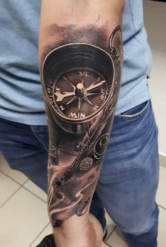 Realism tattoo on forearm by Aleksey Baryshnikov