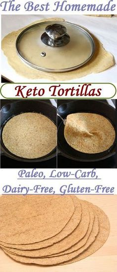 The Best Keto Tortillas Recipe THM-S These tortillas will lessen your desire for bread and pasta. Of course, taste is a little different, but unlike regular tortilla, these keto tortillas contain little carbohydrate. And this fact is important for us. Ketogenic Recipes, Low Carb Recipes, Diet Recipes, Ketogenic Diet, Recipies, Paleo Diet, Vegetarian Keto, 30 Diet, Freezer Recipes