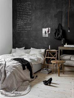 Tableau noir pour nuits blanches