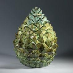 Kate Malone: A Large Majestic Pine Cone Box, 2010