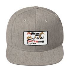 210e68da1f3 Texas Outlaw Legends Guitar The Highwaymen Inspired Snapback Hat by  ATXHumor on Etsy. ATX Humor