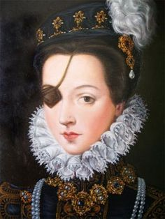 Ana de Mendoza fell from favour after her husband's death, ending up embroiled in a court scandal involving state secrets and dying in prison in 1592 aged fifty one.