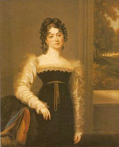 Zofia Zamoyska, 1815-20; Rezydencja Ksiażąt Czartoryskich w Puławach. Poland