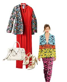 Flower Prints Styling