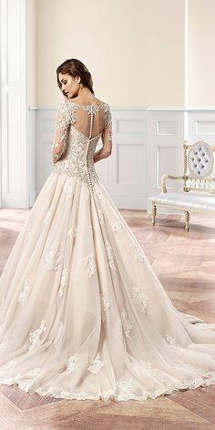 Eddy K Wedding Dresses 37 - Deer Pearl Flowers / http://www.deerpearlflowers.com/wedding-dress-inspiration/eddy-k-wedding-dresses-37/