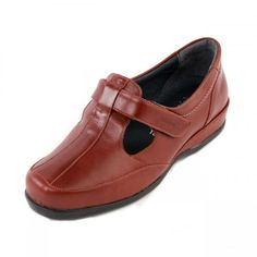 Wingate Ladies Extra Wide Shoe 4E-6E in Red