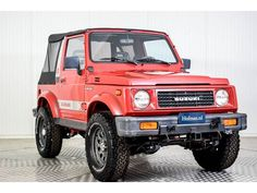 You want to buy a Suzuki SJ classic car? 5 offers for classic Suzuki SJ for sale and other classic cars on Classic Trader. Suzuki Sj 410, Jimny Suzuki, Mini Trucks, Sweet Cars, Four Wheel Drive, First Car, Modified Cars, Classic Trader, Cars For Sale
