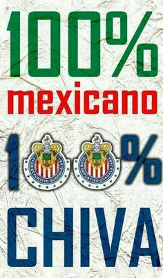 113% CHIVAS BABY!!