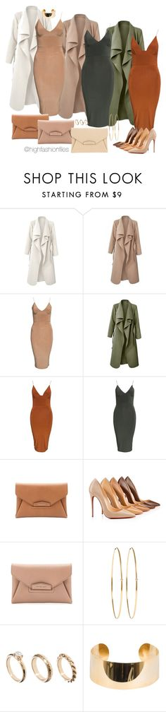 """""""Untitled #2606"""" by highfashionfiles ❤ liked on Polyvore featuring Club L, Givenchy, Christian Louboutin, Jennifer Meyer Jewelry, ASOS and Elie Saab"""
