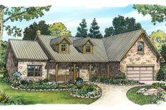 Stone Ranch Home Plan