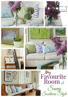 My Favourite Room at Savvy Southern Style - The Happy Housie