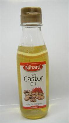 Castor oil 250 ml (ricinusolie til hår)